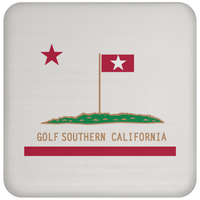 OPG Custom Design #8. Golf Southern California. All Year Long Baby!! Coaster