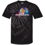 ArtichokeUSA Character and Font design #19. Michio Kaku Fan Art. Let's Create Your Own Design Today. 100% Cotton Tie Dye T-Shirt