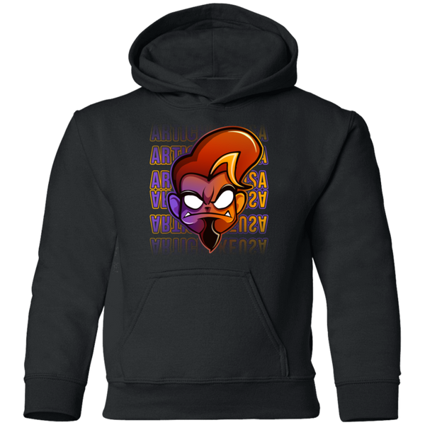 ArtichokeUSA Character and Font Design #1. Let's Create Your Own Design Today. Youth Hoodie