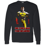 ArtichokeUSA Custom Design #58. One Punch Fedor Emelianenko. One Punch Man Parody. 100% Cotton Jersey Knit T-Shirt