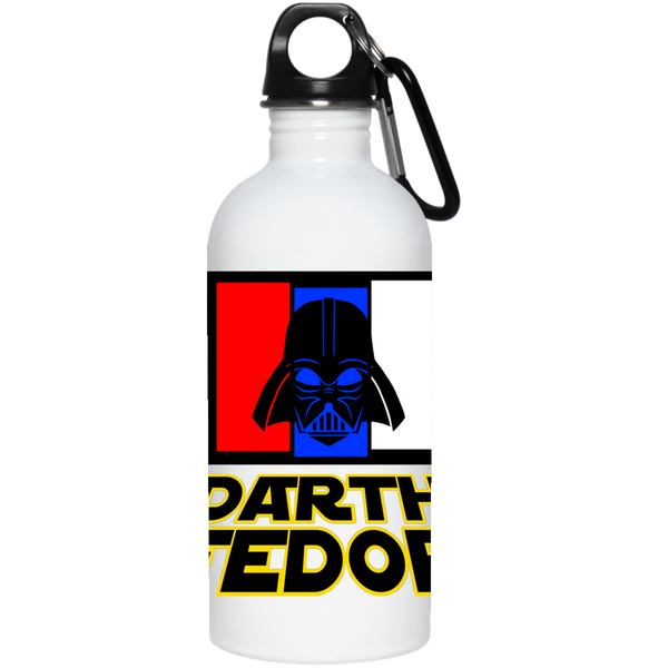 Artichoke Fight Gear Custom Design #15. Darth Fedor. Fedor Emelianenko / Darth Vader Parody. Fan Art Parody. MMA. 20 oz. Stainless Steel Water Bottle