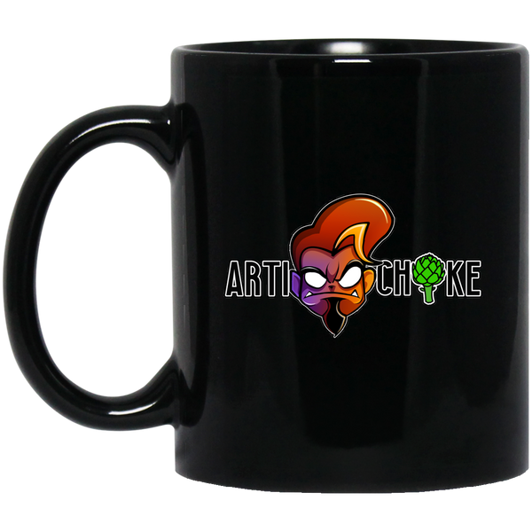 Custom design #1. 11 oz. Black Mug