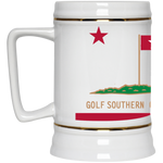 OPG Custom Design #8. Golf Southern California. All Year Long Baby!! Beer Stein 22oz.