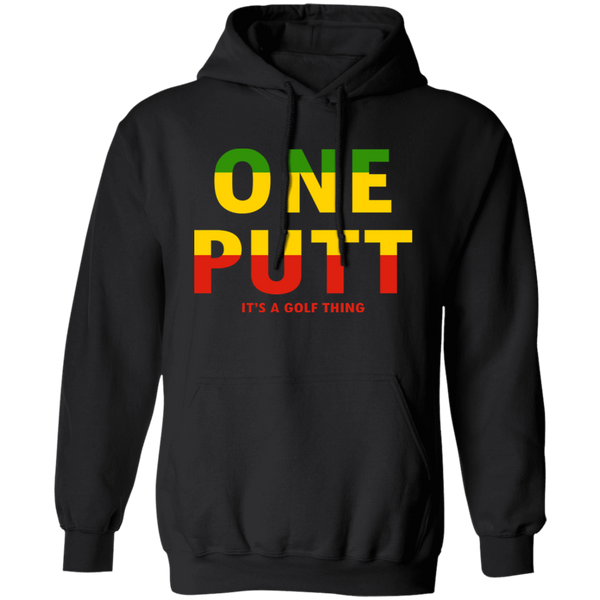OPG Custom Design #14. ONE PUTT. ONE LOVE v2 Parody. Golf. Hoodie