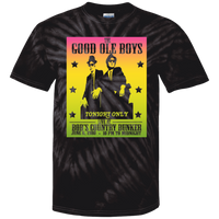 ArtichokeUSA Custom Design #43. The Good Ole Boys. Blues Brothers Fan Art. Tie Dye 100% Cotton T-Shirt
