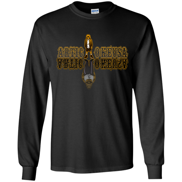 ArtichokeUSA Character and Font design #12. Friends, Clients, and People of Earth. Let's Create Your Own Design Today. Youth Long Sleeve T-Shirt