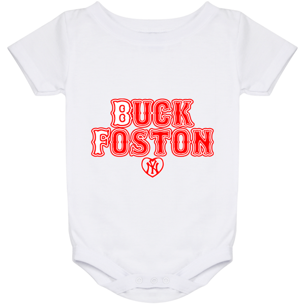 ArtichokeUSA Custom Design #11. BUCK FOSTON. Need a Yankees Fan Say More? Fan Art. Baby Onesie 24 Month
