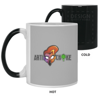 Custom design #1. 11 oz. Color Changing Mug
