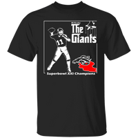ArtichokeUSA Custom Design #41. Godfather Simms. NY Giants Superbowl XXI Champions. Fan Art. Basic 100% Cotton T-Shirt