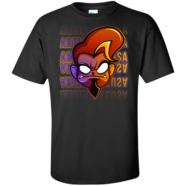 ArtichokeUSA Character and Font Design #1. Let's Create Your Own Design Today. Tall 100% Cotton T-Shirt