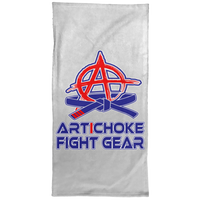 Artichoke Fight Gear Custom Design #4. Eat. Sleep. BJJ/Create Your Own Custom Design Repeat. BJJ Hand Towel - 15x30
