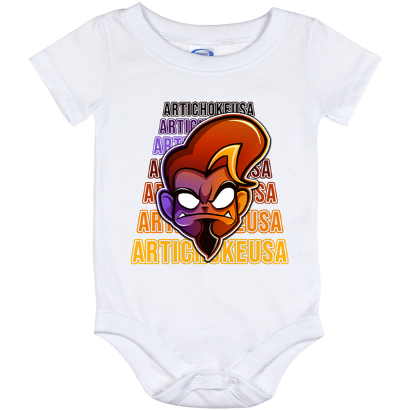 ArtichokeUSA Character and Font Design #1. Let's Create Your Own Design Today. Baby Onesie 12 Month