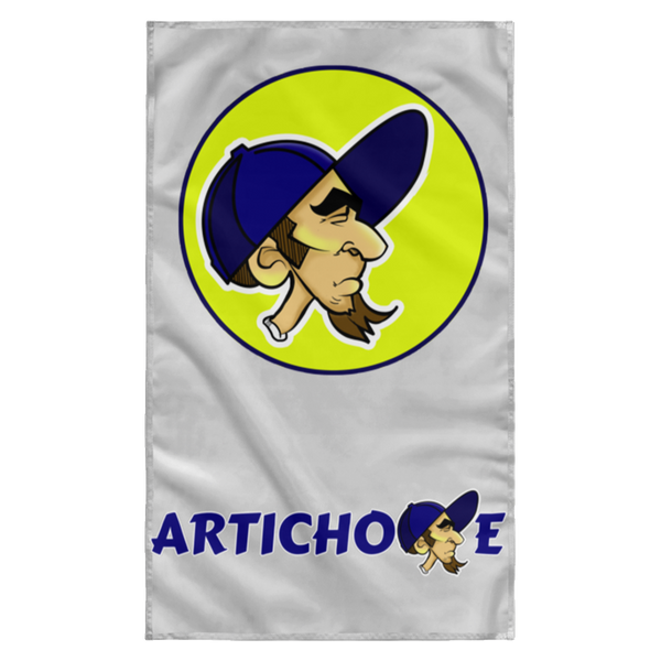 ArtichokeUSA Character and Font design #20. Friends, Clients, and People of Earth. Let's Create Your Own Design Today. Wall Flag