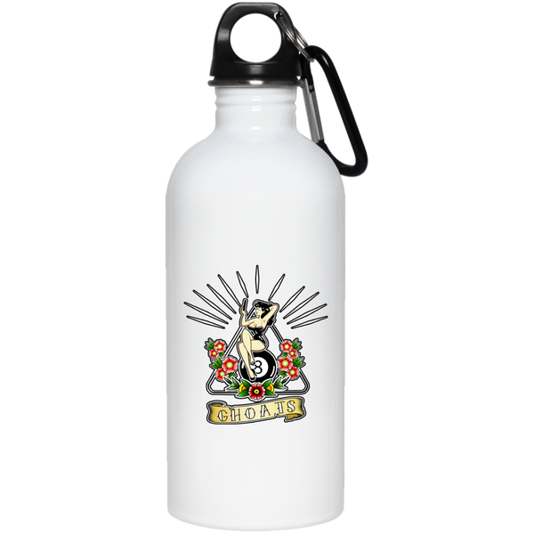 Custom design #16. Pin up GHOAT. Pool. 20 oz. Stainless Steel Water Bottle