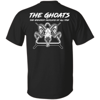 The GHOATS Custom Design #1. Active Shooter. Basic 100% Cotton T-Shirt