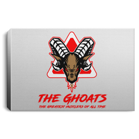 The GHOATS custom design #7. The Best Offence Is A Good Defense. Pool/Billiards. Landscape Canvas .75in Frame