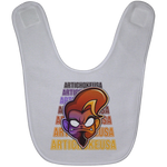 ArtichokeUSA Character and Font Design #1. Let's Create Your Own Design Today. Baby Bib