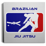 Artichoke Fight Gear Custom Design #2. BJJ MLB Parody v1. Square Canvas .75in Frame