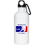 Artichoke Fight Gear Custom Design #2. BJJ MLB Parody v1. 20 oz. Stainless Steel Water Bottle