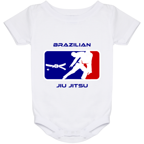 Artichoke Fight Gear Custom Design #2. BJJ MLB Parody v1. Baby Onesie 24 Month