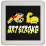 ArtichokeUSA custom design #6. Art Strong. Coaster