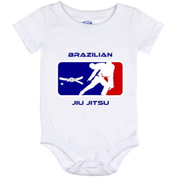 Artichoke Fight Gear Custom Design #2. BJJ MLB Parody v1. Baby Onesie 12 Month