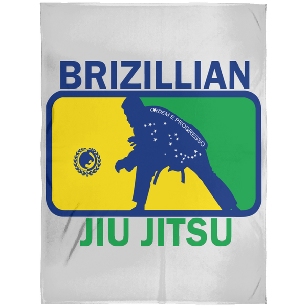 Artichoke Fight Gear Custom Design #5. BJJ MLB Brazil Flag Colors. Parody v2. Arctic Fleece Blanket 60x80