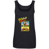 ArtichokeUSA Custom Design #10. Best Friends Forever. Bacon Cheese Burger. Ladies' Ultra Soft Cotton Tank Top