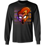ArtichokeUSA Character and Font Design #1. Let's Create Your Own Design Today. Long Sleeve 100% Cotton T-Shirt