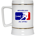 Artichoke Fight Gear Custom Design #2. BJJ MLB Parody v1. Beer Stein 22oz.