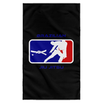 Artichoke Fight Gear Custom Design #2. BJJ MLB Parody v1. Sublimated Wall Flag