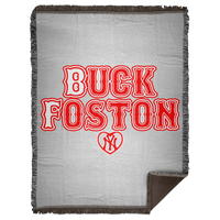 ArtichokeUSA Custom Design #11. BUCK FOSTON. Need a Yankees Fan Say More? Fan Art. Woven Blanket - 60x80