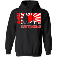 ArtichokeUSA Character and Font design #31. Godzilla / Mechagodzilla Fan Art. TV/Movies Gildan Pullover Hoodie