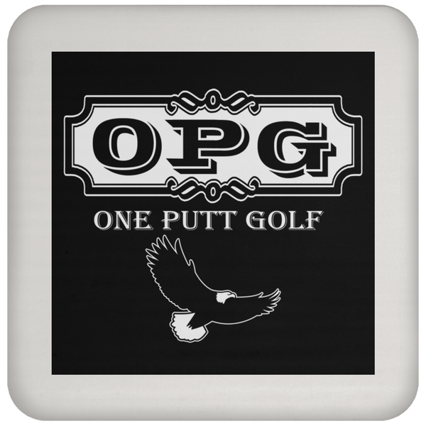 OPG Custom Design #0. OPG - One Putt Golf.  Front and Back Design. Coaster