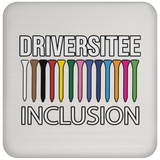 OPG Custom Design #5. Driversitee and Inclusion. Golf. Coaster