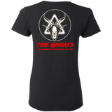 The GHOATS Custom Design #5. The Best Offense is a Good Defense. Ladies' Basic 100% Cotton T-Shirt