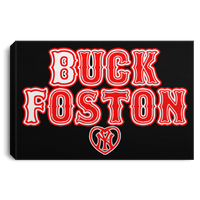ArtichokeUSA Custom Design #11. BUCK FOSTON. Need a Yankees Fan Say More? Fan Art. Landscape Canvas .75in Frame
