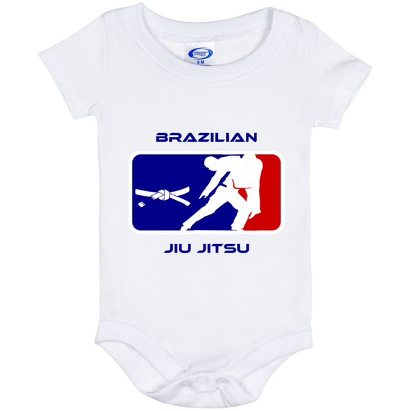 Artichoke Fight Gear Custom Design #2. BJJ MLB Parody v1. Baby Onesie 6 Month
