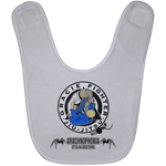 Artichoke Fight Gear Custom Design #1. Arachnophobia. It's A Jiu Jitsu Thing. Spider Guard. BJJ. Baby Bib