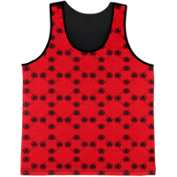 Red logo AK All Over Print Tank Top