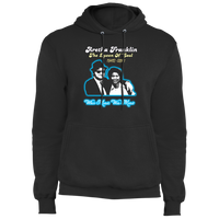 ArtichokeUSA Custom Design #20. Aretha Franklin & John Belushi Tribute. When Music Was Music. Fleece Pullover Hoodie