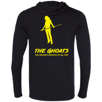 The GHOATS custom design #36. Shark Sighted. Female Pool Shark. Shoot At Your Own Risk. Pool / Billiards. Universal T-Shirt Hoodie