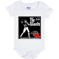 ArtichokeUSA Custom Design #41. Godfather Style Logo. NY Giants Superbowl XXI Champions. Fan Art. Sports. Baby Onesie 6 Month