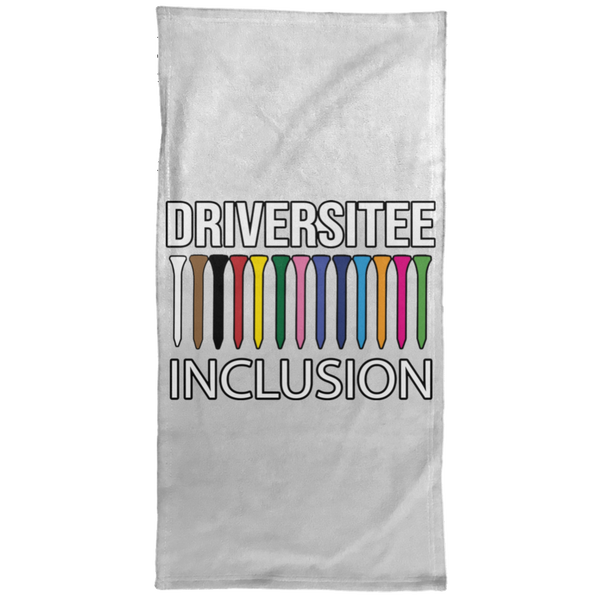 OPG Custom Design #5. Driversitee and Inclusion. Golf. Hand Towel - 15x30