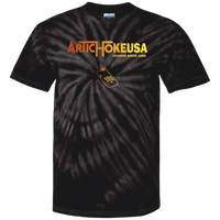 ArtichokeUSA Custom Design #9. Hooked (On Gaming) Since 1983. Activision Parody. Tie Dye 100% Cotton T-Shirt