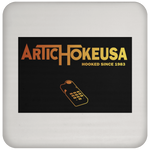 ArtichokeUSA Custom Design #63. Hooked (On Gaming) Since 1983. Activision Parody. Coaster