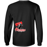 ArtichokeUSA Character and Font design #15. Godzilla Fan Art. Let's Create Your Own Design Today. Youth Long Sleeve T-Shirt