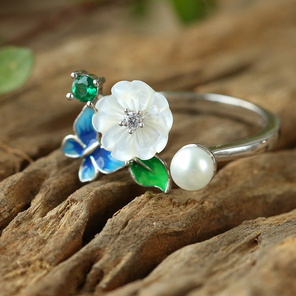 S925 Flower Ring for Mother's Day 2019 | Best Gift