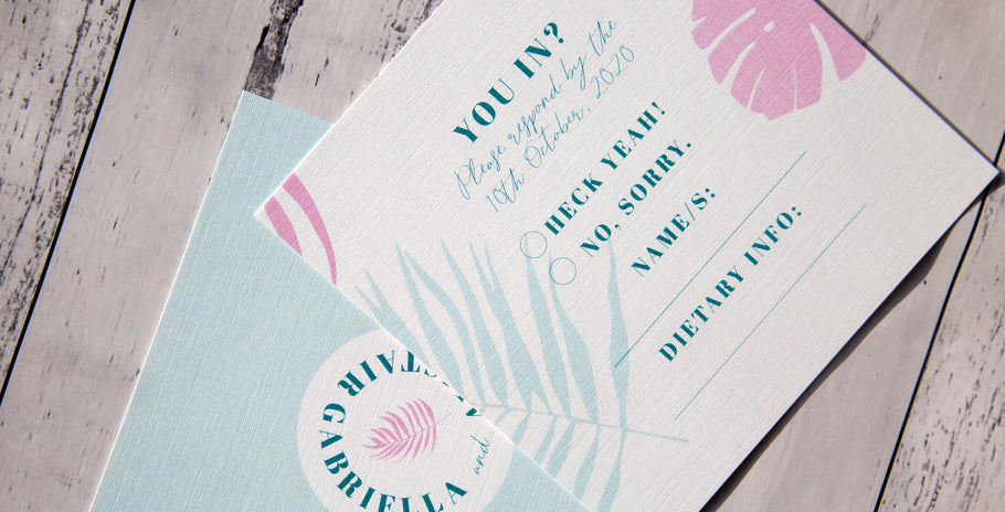 A Guide: Wedding Stationery