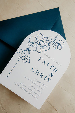 Arch Faith Invitation